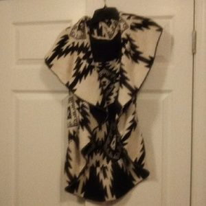 Jackets & Blazers - Womens indian print style reversible vest